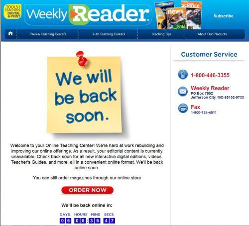 Weekly Reader.JPG