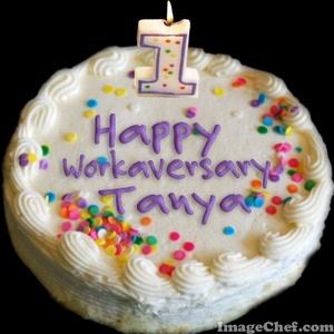 workaversary cake