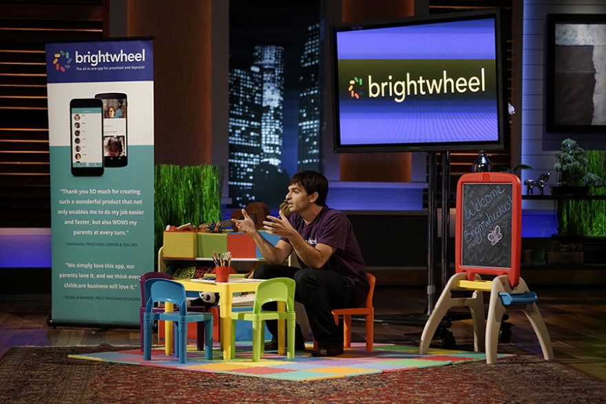 Brightwheel app, early education software platform.