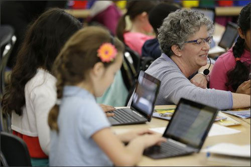 integration of tech and core academic lessons