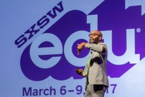 Christopher Emdin gives a high-energy keynote at SXSWedu 2017.
