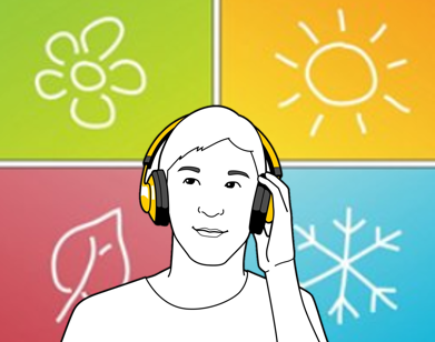 headphones over seasonality